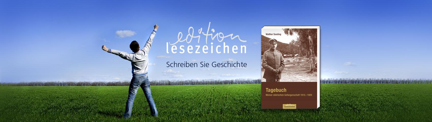 edition lesezeichen Geschichte